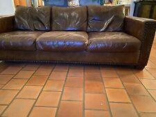Maxwell Sofa Italian Brompton Leather