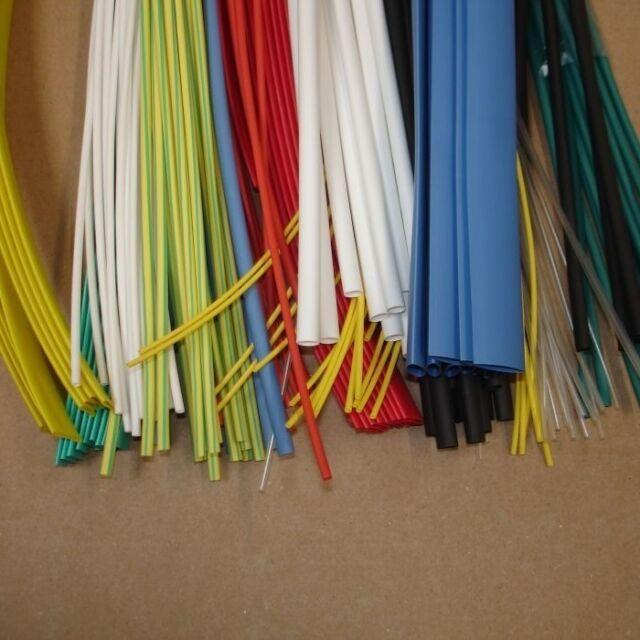 11090 Heatshrink Heat Shrink Tubing 8 x 1m Coloured Tube Sleeving Kit Pack