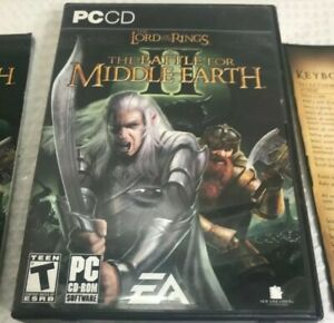 Lord-of-the-Rings-Battle-for-Middle-Earth-II-for-PC-w-CD-key-MISSING-DISC-1