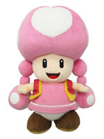 Little Buddy Super Mario All Star Collection 1450 - Toadette Stuffed Plush Doll