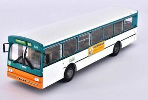 Ixo/hachette 1/43 Heuliez O 305 Hlz Bus / Autobus Vert/blanc Carquefou France