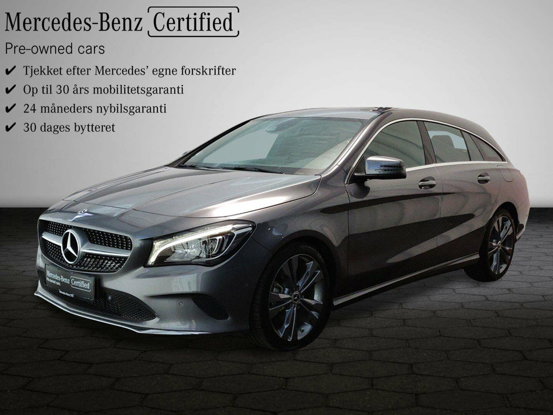 Mercedes CLA200 1,6 SB aut. 5d - 368.300 kr.