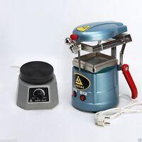 Dental Lab Vaccum Forming Molding Machine + 4 Round Vibrator Oscillator Au Fast