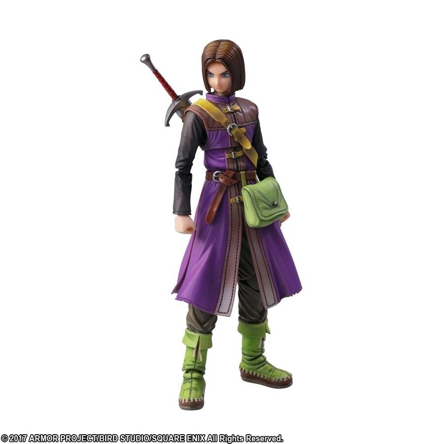 Dragon Quest XI - The Luminary Bring Arts Action Figure
