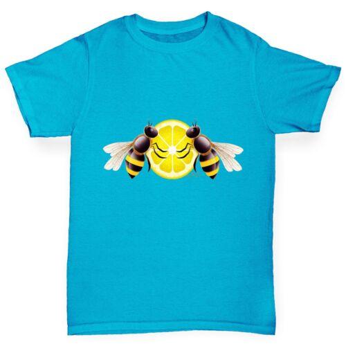 Twisted Envy Boy/'s Lemon Bees T-Shirt