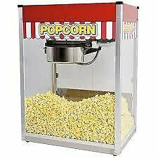 Popcorn Machines Gas n Electric 6oz 8oz 16oz With warranty Available in Demo n New