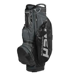 2020-Sun-Mountain-Golf-H2NO-Lite-Cart-Bag-Black-Gunmetal