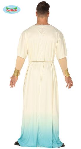 GUIRCA Costume vestito greco Dio dell/'Olimpo uomo adulto mod 88662