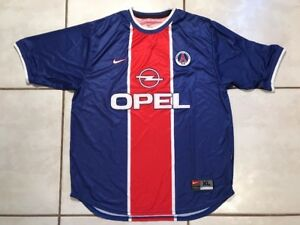 fe73266d4bf0a Image is loading Rare-Vintage-NIKE-Paris-Saint-Germain-Jersey-Men-
