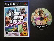 JEU Sony PLAYSTATION 2 PS2 GRAND THEFT AUTO VICE CITY STORIES (GTA sans notice)