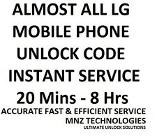 All LG Unlock Code P525 P520 GT540 GT505 GT400 GT350 GT405 GT550 GT500 GT365