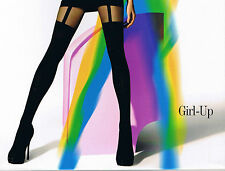 "MOCK SUSPENDER STOCKINGS-TIGHTS-GATTA "" GIRL-UP"" 40/20 DENIER"