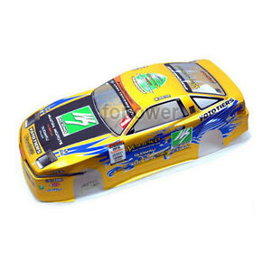rc 1 10 scale on road drift car painted pvc body shell 190mm body shell ax08 ebay. Black Bedroom Furniture Sets. Home Design Ideas