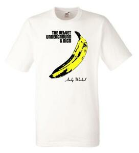 Initiative Velvet Underground T-shirt Warhol Ban Signature Size L Official Merchandise