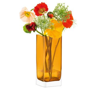 NEW LSA Modular Vase, 25x10x10cm - Amber