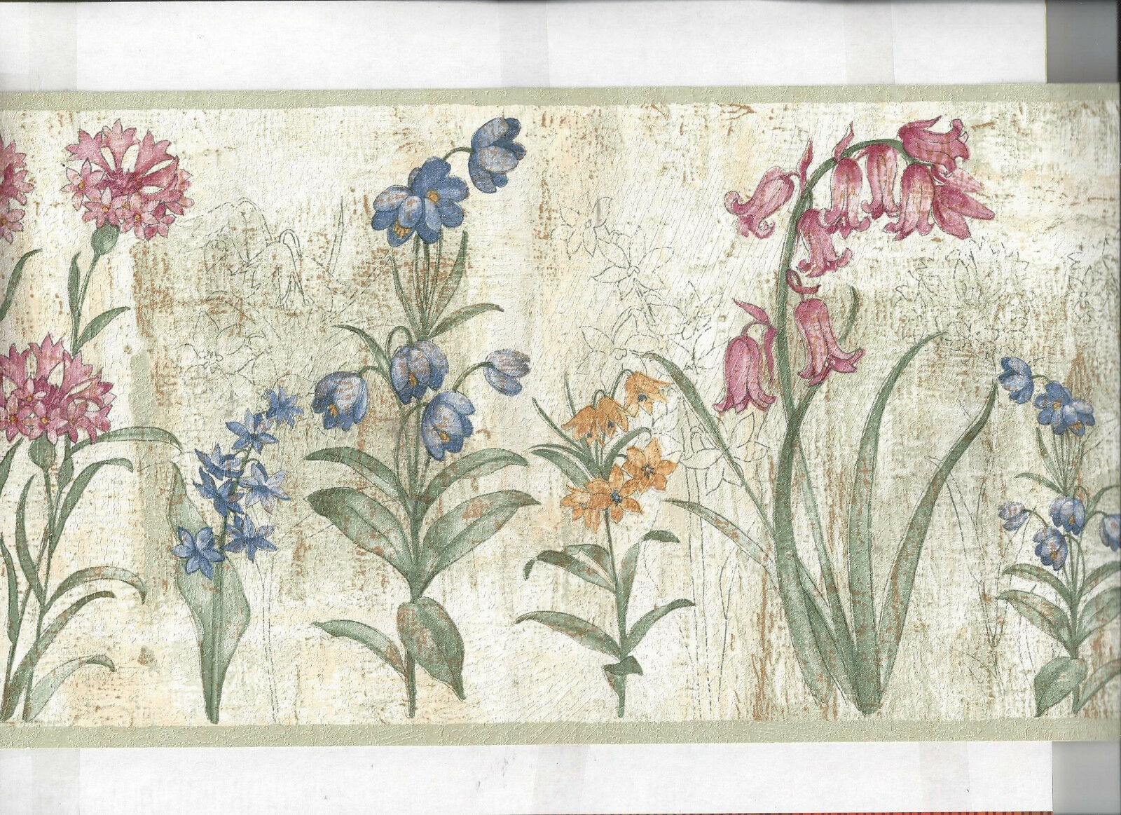 Wallpaper Border Floral Flowers Flower New Arrival For Sale Online