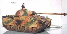 King & Country Ww2 German Army WS023A Panther Ausf. G Ambush Pattern EXIB Winter