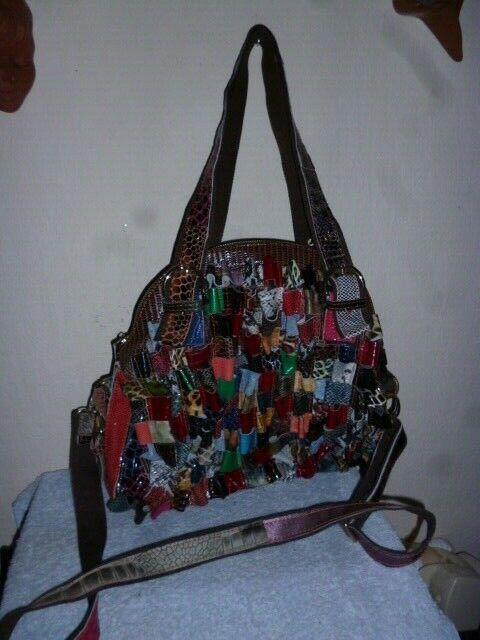 Damen Handtasche Trage und Umhängetasche Unikat Designer