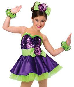 A-Wish-Come-True-Its-My-Party-Dance-Wear-XLC-Puple-Green