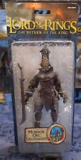 LOTR- ULTRA RARE- MORDOR ORC LIEUTENANT- LORD OF THE RINGS- THE HOBBIT- TOYBIZ