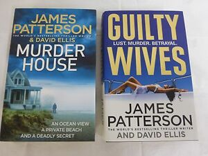 James-Patterson-x2-Books-Hardcover-Good-Condition