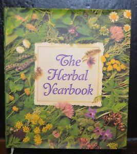 The Herbal Yearbook hardback, dust jacket, clean for herb gardeners