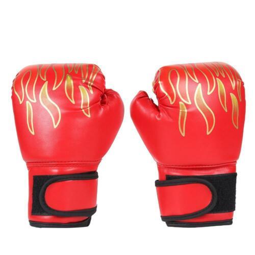Children Kids Boxing Sparring Training Gloves MMA Kick Boxing Punching Gloves