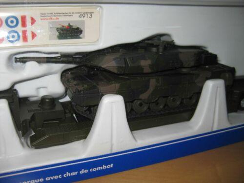 Siku 8612 Tieflader mit Panzer in 1:50 Neuware in OVP