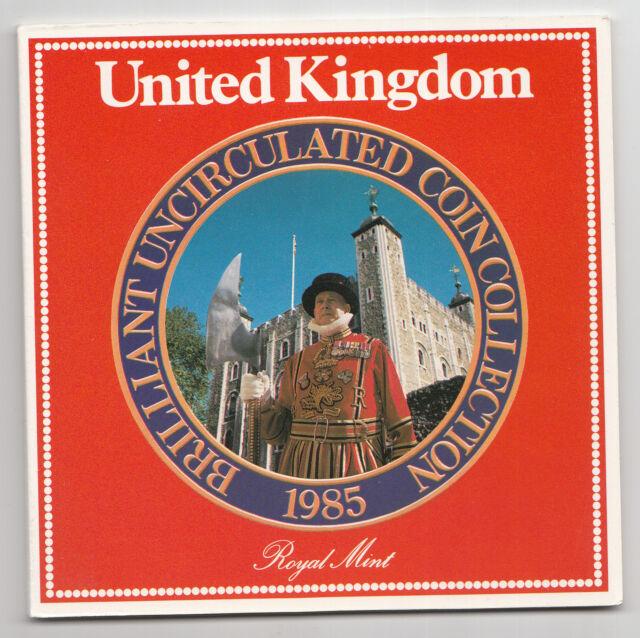 1985 Royal Mint UNC coin set (UK)