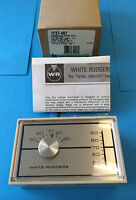 White Rodgers 1f37-407 Thermostat 2-stage Heat 24 Volt Wood/oil/gas