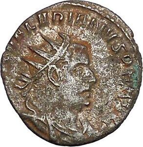 VALERIAN-I-holding-hand-of-kneeling-Orbis-Silver-Ancient-Roman-Coin-i46462