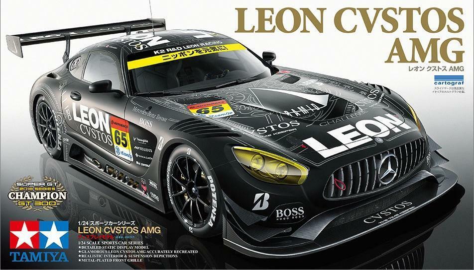 Tamiya 1  24 Mercedes GT3 LEON CVSTOS AMG