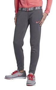 Nike-Maedchen-Fitnesshose-Trainingshose-DRI-FIT-CORE-STUDIO-PANT-grau-coral