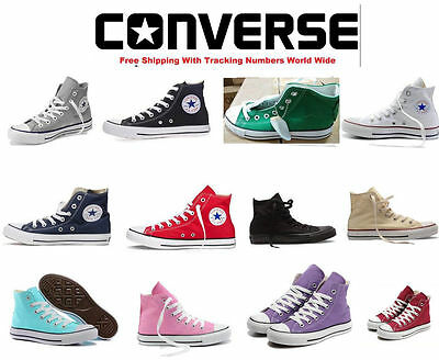 New Women Lady ALL STARs Chuck Taylor Ox High Top shoes casual Canvas Sneakers