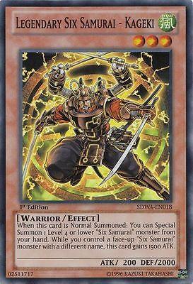 Legendary Six Samurai Common VLP Samurai Warlords SDWA-EN016 Kizan