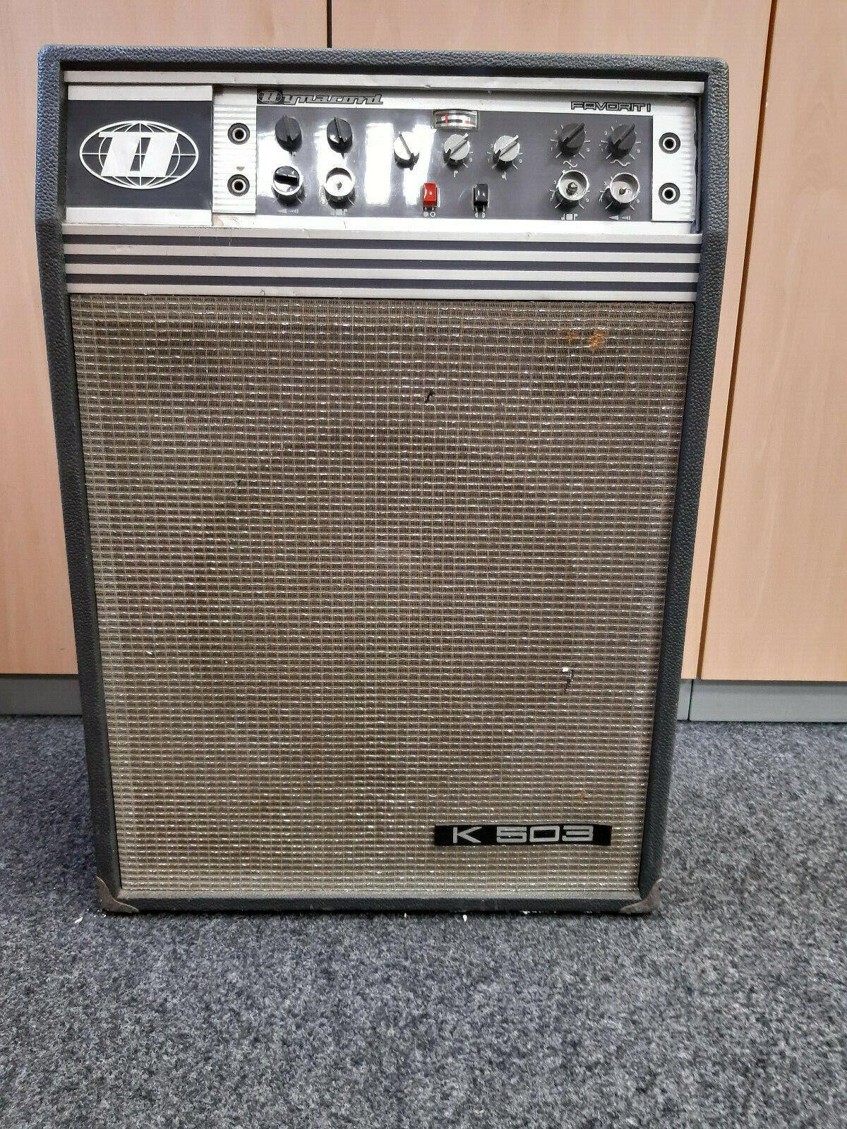 Dynacord Favorit K-503 Vintage Röhrenverstärker