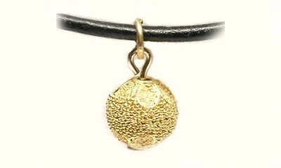 18 K Gold Filled Sterlin g Silver Pendant Egyptian Jewelry Gold Ramses ii Famous Amulet Necklace