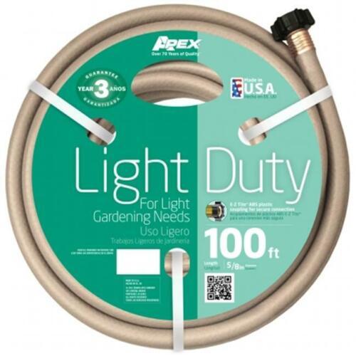 Teknor Apex 8400-100 5-8 in Light Duty Garden Hose X 100 in