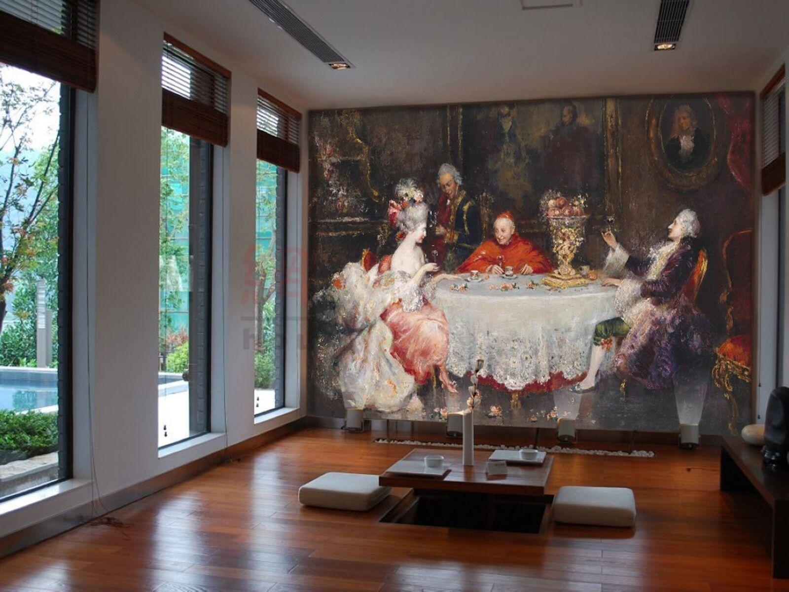 3D Aristokratie Malerei 9477 Tapete Wandgemälde Tapeten Bild Familie DE Lemon