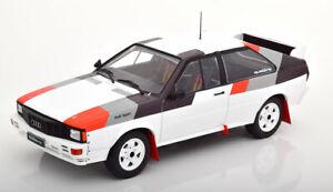 Audi-Quattro-Rallye-Groupe-B-Bel-exemple-Bon-Detail-echelle-1-18-diecast-model-IXO
