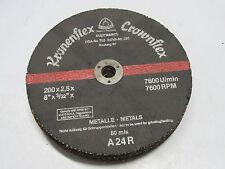 10 Pcs Klingspor Crown Flex 8 X 332 X 58 A24r Metal Grinding Wheels Discs