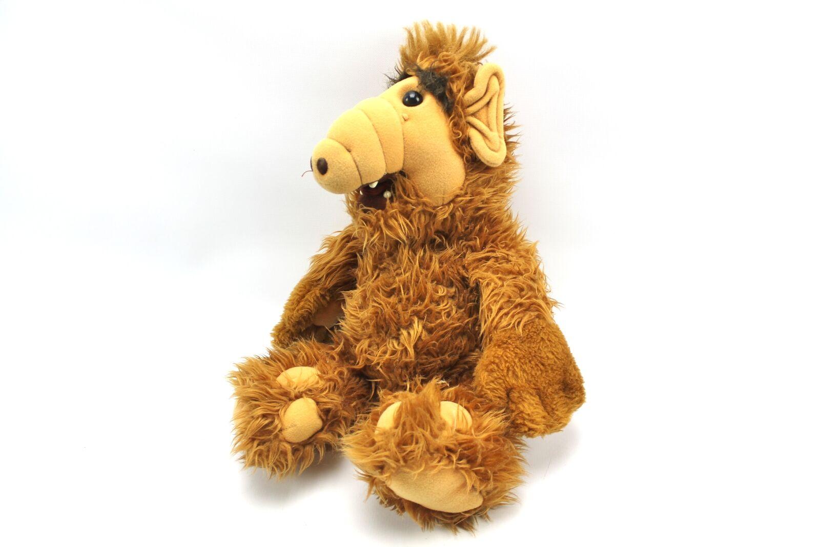 Vintage 19  ALF Plush Toy Stuffed Animal 1986 Alien Productions Coleco