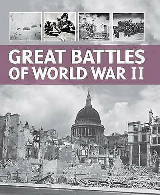 """""""AS NEW"""" , Military Pocket Guides - Great Battles of WW2 Book"""