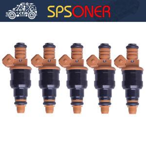 5pcs 0280150785 NEW fuel Injector for 1994-1997 Volvo 850 2.3L 2.4L Turbo
