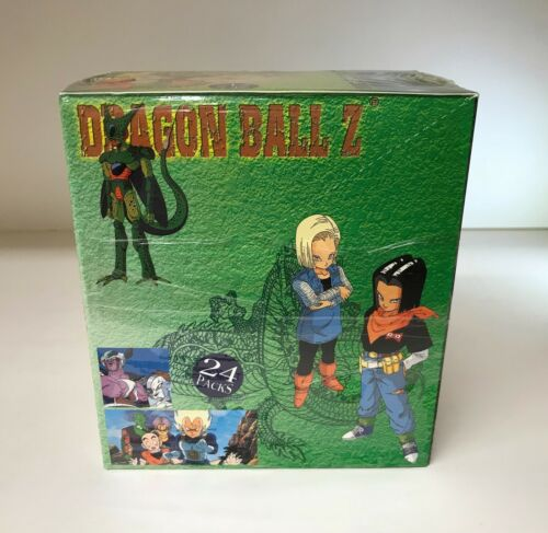 Dragon Ball Z Series 4 Sealed Trading Card Hobby Box JPPAmada ArtBox 2001