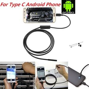 super cute 21a7c f2dea Details about Waterproof Type C Endoscope Inspection Camera for Moto Z  Force Play M-XT1662 US