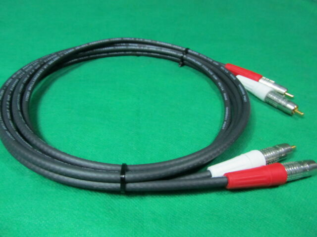 New 3/' Belden 1506A High Quality// Studio Grade Analog RCA Stereo Cables