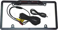Color Rear View Camera W/ 8 Ir Night Vision Led's For Jvc Kw-nt500hdt Kwnt500dt