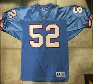 Details about AUTHENTIC RUSSELL BARRON WORTHAM HOUSTON OR TENNESSEE OILERS JERSEY 44