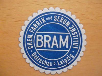 Vignette Leipzig Reinweiß Und LichtdurchläSsig Bram Chem Fabrik Und Serum Institut Oelzschau B